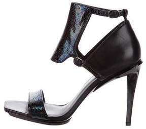 3.1 Phillip Lim Embossed Leather Sandals