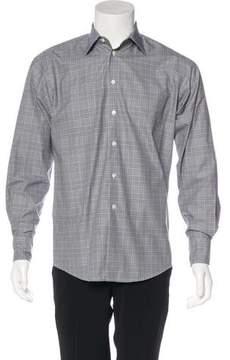 Richard James Plaid Woven Shirt