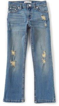 Levi's s Little Boys 4-7X 511 Slim Destruction Jeans