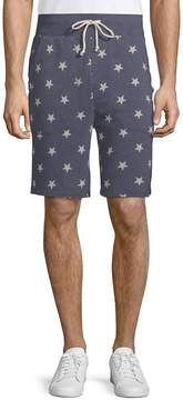 Alternative Men's Star-Print Drawstring Shorts