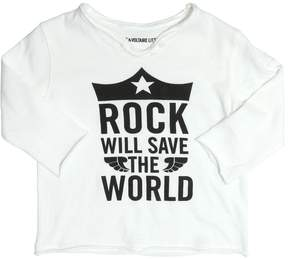 Zadig & Voltaire Rock Printed Cotton Jersey T-Shirt