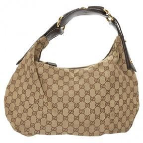 Gucci Hobo cloth handbag - BEIGE - STYLE