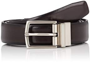 Barneys New York MEN'S REVERSIBLE LEATHER BELT