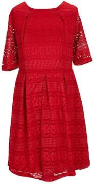Copper Key Little Girls 4-6X Lace Fit and Flare Dress