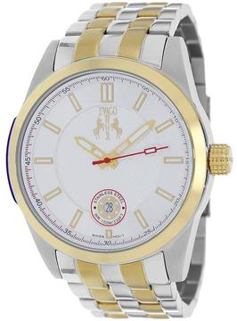 Jivago JV7112 Men's Rush Silver & Gold Stainless Steel Watch