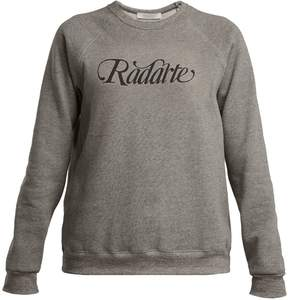 Rodarte Logo-print cotton-blend sweatshirt
