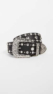 B-Low the Belt Frank Moto Crystal Belt
