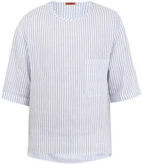 Barena VENEZIA Crew-neck striped linen T-shirt