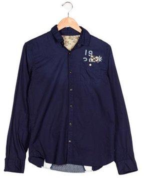 Scotch Shrunk Boys' Long Sleeve Collared Shirt w/ Tags