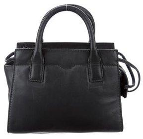 Rebecca Minkoff Mini Leather Satchel - BLACK - STYLE