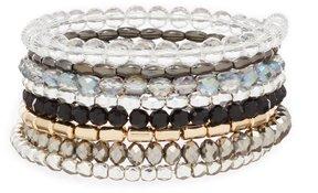 Anna & Ava Elton Beaded Coil Bracelet