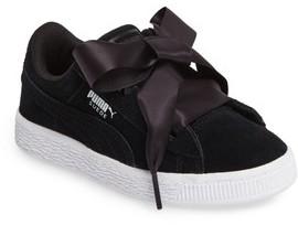 Puma Girl's Hearts Sneaker