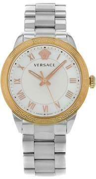 Versace V Sport P6Q89FD002S099 Steel & Gold Tone Quartz Ladies Watch