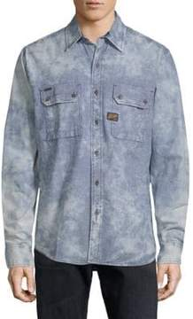Affliction Sunset Cotton Button-Down Shirt