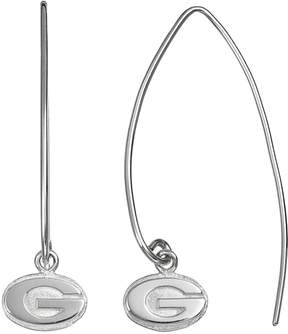Dayna U Georgia Bulldogs Sterling Silver Hook Earrings