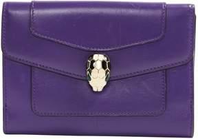 Bulgari Purple Leather Purses, wallets & cases