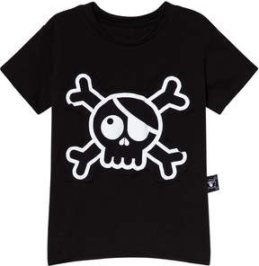 Nununu Black Skull Patch T-Shirt