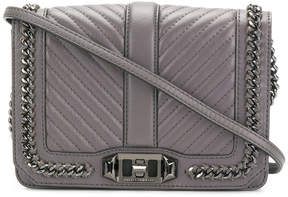 Rebecca Minkoff small Love crossbody bag - GREY - STYLE