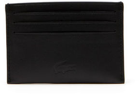 Lacoste Men's Full Ace Leather Six Card Holder