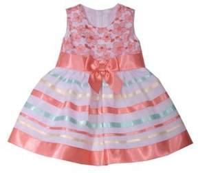 Iris & Ivy Baby Girl's Floral Ribbon Dress