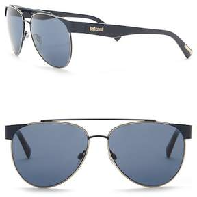 Just Cavalli Aviator 59mm Metal & Plastic Sunglasses