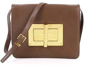 Tom Ford Pre-owned: Natalia Convertible Clutch Leather Large.
