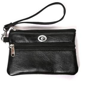 NCAA Georgia Bulldogs Leather Wristlet