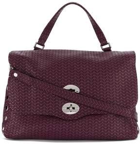 Zanellato wavy pattern tote bag