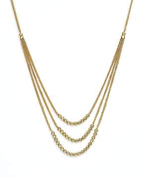 Bloomingdale's 14K Yellow Gold Graduated Multi Strand Necklace with Beads, 16 - 100% Exclusive