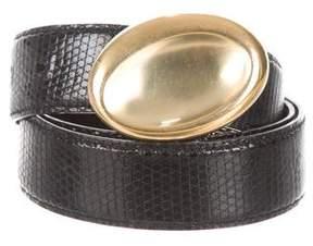 Gucci Vintage Leather Belt