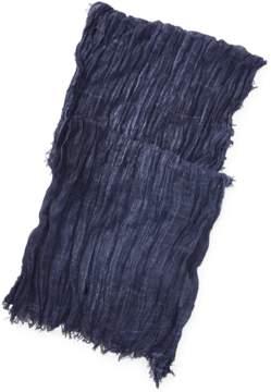 Polo Ralph Lauren | Frayed Cotton Scarf | Newport navy