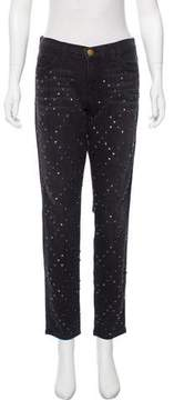 Current/Elliott Studded Skinny Jeans