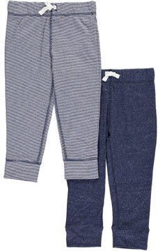 Carter's Baby Boys' 'Easy Stripes' 2-Pack Joggers - navy, 3 months
