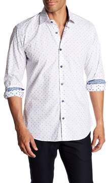 Jared Lang Long Sleeve Check Slim Fit Shirt