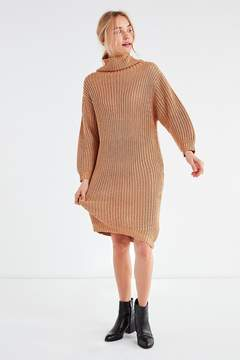 Blq Basiq Chunky Turtleneck Sweater Dress