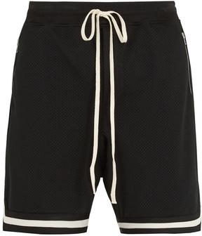 Fear Of God Dropped-crotch mesh shorts