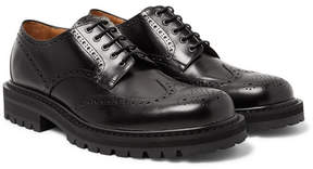 Dries Van Noten Polished-Leather Wingtip Brogues