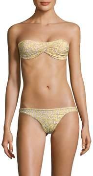 Melissa Odabash Women's Two-Piece Twist Bandeau Bikini