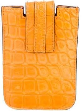 Gucci Allligator Phone Case