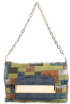 Jimmy Choo Snakeskin Patchwork Celeste Bag