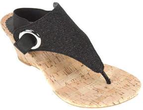White Mountain Women's Aida Thong Wedge Sandal