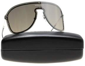 Versace VE2180 10006G Silver Aviator Sunglasses