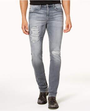 Joe's Jeans Stretch Jeans Men's Slim-Fit Ripped Gray Stretch Jeans