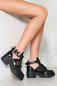 Nasty Gal nastygal Midnight Rambler Cut-Out Boot