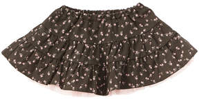 Chicco Girls' Brown Floral Skirt