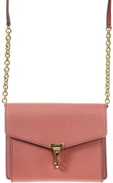 Burberry Grained Leather Shoulder Bag - CORAL - STYLE