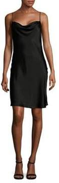 WAYF Cowlneck Shift Dress