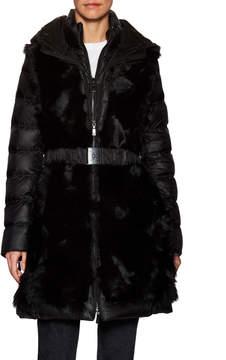 Dawn Levy Women's Taryn Fur Front Puffer Coat