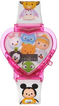 Disney Disney's Tsum Tsum Kids' Heart-Shaped Digital Light-Up Watch