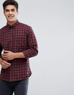 Esprit Shirt In Red Check